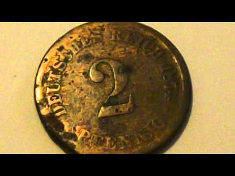 Coin Roll Hunting! 1874 German Coin!!
