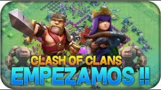VUELVO A YOUTUBE / GG / CLASH OF CLANS