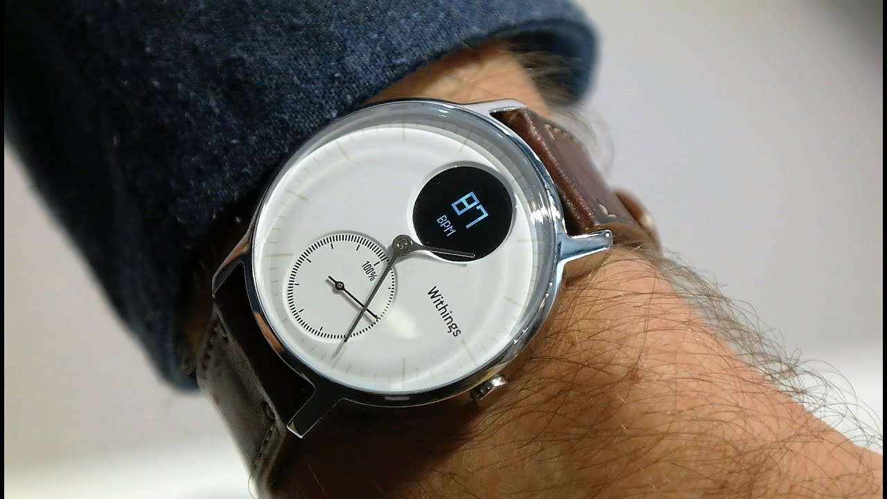 Withings Steel HR Smartwatch First Look Re Uploaded with a