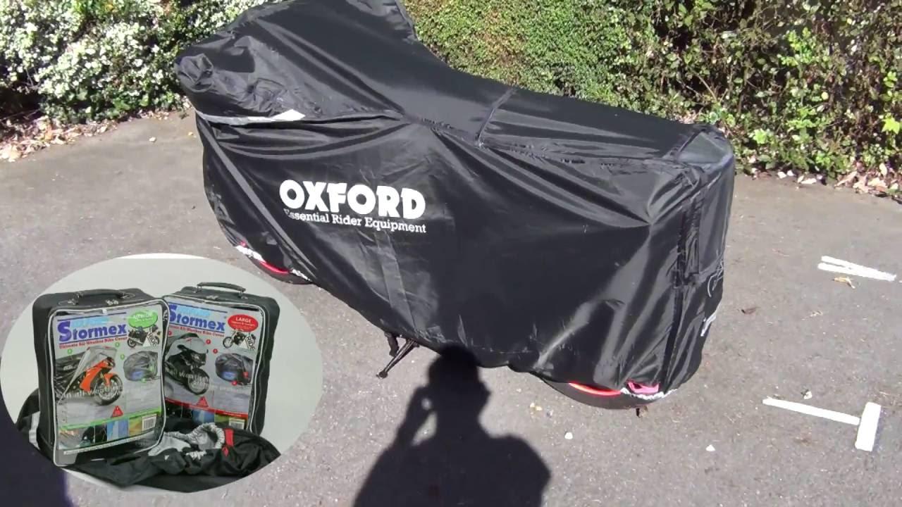 Oxford Stormex Motorcycle Cover Fahrradzubehör Medium