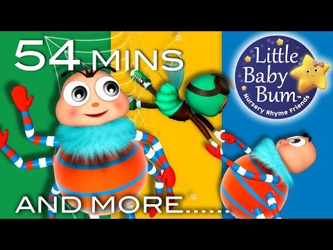 Itsy Bitsy Spider | Part 3 | Plus More Nursery Rhymes And Kids Songs | LittleBabyBum!