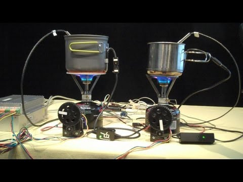 TEST DATA!  PowerPot and Cup Charger - Thermoelectric Generator, USB fire powerd TEG face off. thumbnail