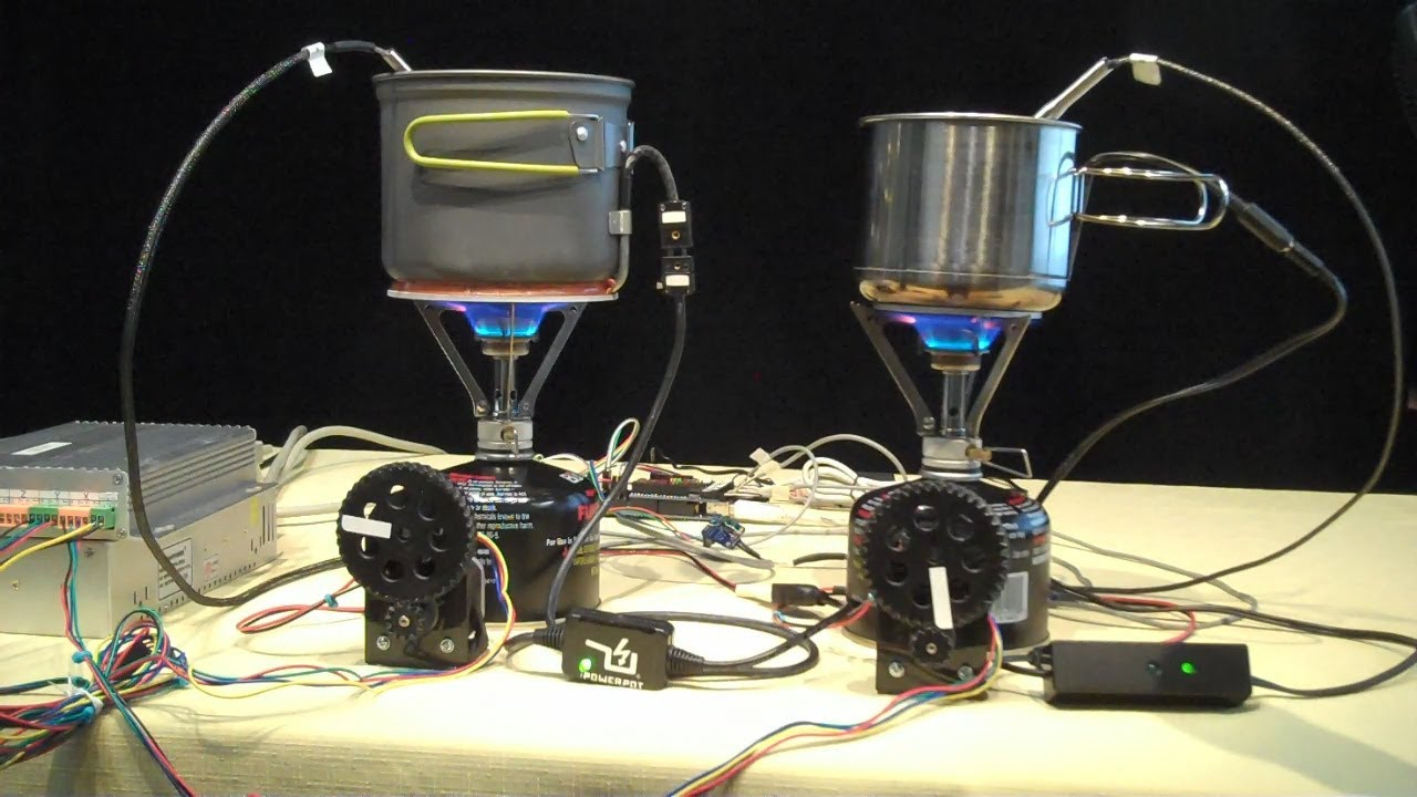 Test Data Powerpot And Cup Charger Thermoelectric