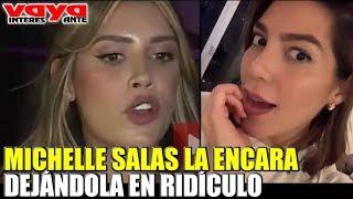 Michelle Salas encara a Frida Sofía dejándola en ridículo.