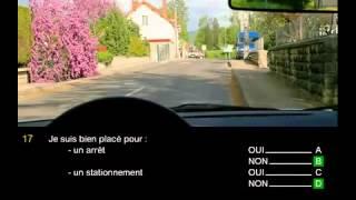 permis de conduire france 2015 HD   Code de la route test gratuit