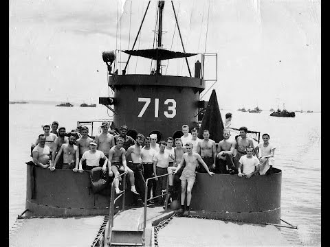 LCI713 WW2 Landing Craft tour