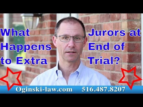 At End of Trial in NY, What Happens to Alternate Jurors? Attorney Gerry Oginski Explains Mp3