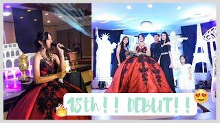 MY 18TH BIRTHDAY! DEBUT VLOG!   Angela Denise (Philippines)
