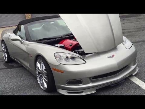 2005-2013 Corvette C6 DIY Oil Change Detail Instructions LS2/LS3 & Clean Mass Air flow Sensor
