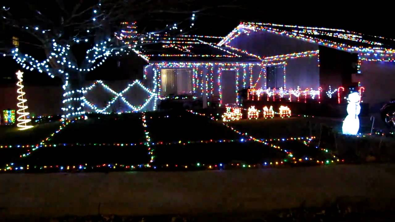 Great Awesome Christmas Lights With Music Amazing Design