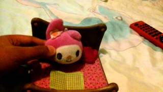 My Melody Miniature Bed