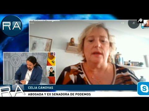 Celia Cánovas, ex senadora de Podemos: 'Al final los únicos 'fachas' son Iglesias y Montero'