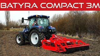 #461 Testy agregatu Batyra Compact 3m & New Holland T5 140 Blue Power