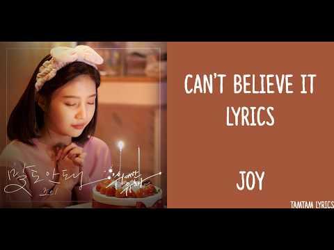 OMG!/ Can't Believe It - Joy Lyrics [Han,Rom,Eng] {The Great Seducer OST}