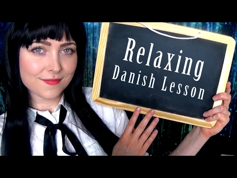 ASMR 📕 Danish Lesson // Chalkboard // Danish Accent // Personal Attention