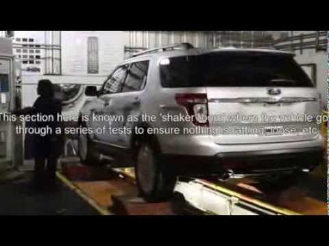 Ford Motor Co. Chicago Assembly Plant Tour
