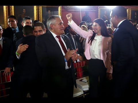 Fernando Soto Rojas, discurso completo en instalación de Asamblea Nacional Constituyente