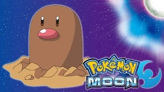 Pokemon: Moon - Diglett