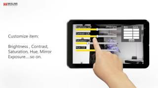 Color temperature APP : adjust video brightness, exposure, contrast