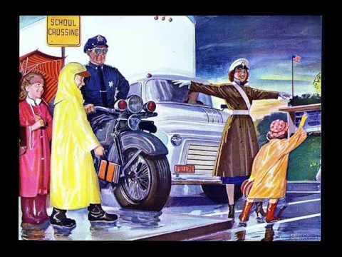 The Friendly Policeman (sounds like Monty Python)