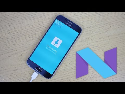 Samsung Galaxy S6 & S6 Edge Android 7.0.1 TouchWiz Nougat Firmware - How To Install