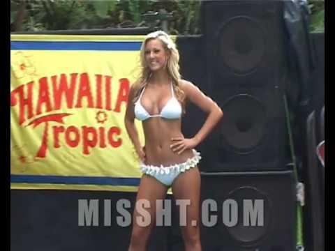 Miss hawaiian tropic international bikini pageant, cocks in your mouth simultaneously