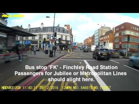 Tower Transit Route 13 Victoria to North Finchley