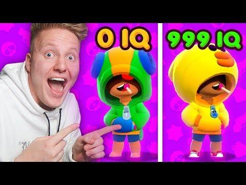 0 IQ VS 999 IQ В BRAWL STARS