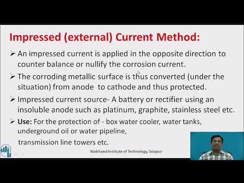 Corrosion Cathodic And Anodic Protection And Galvanization  Process