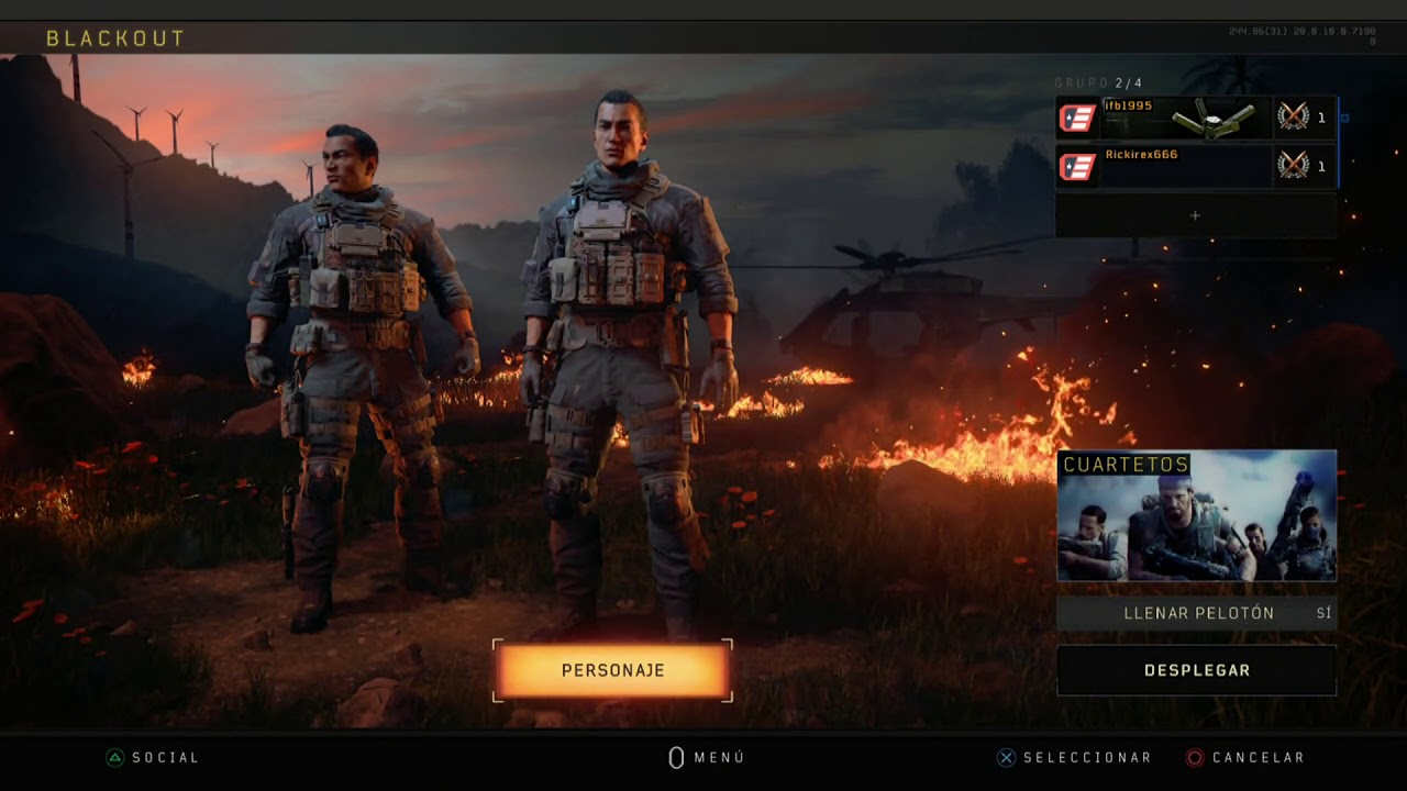 CALL OF DUTY BLACK OPS 4 TUTORIAL COMO JUGAR PANTALLA DIVIDIDA ZOMBIES,  MULTI Y BLACKOUT