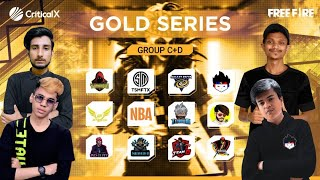 CRX Esports Free Fire Competitive Scrims | GOLD SERIES | Grind for FFIC
