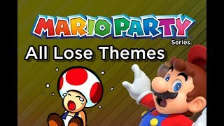 Mario Party - All Lose Minigame Themes (N64 - 3DS)