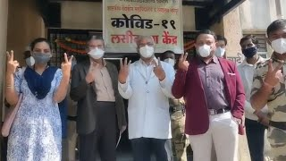 Nagpur: Healthcare workers, doctors receive Covid-19 vaccine jabs