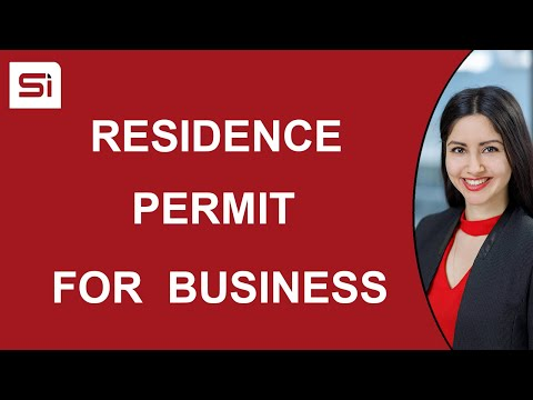Residence Permit in Slovakia for the Purpose of Business