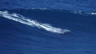 Great Day of Big Wave Surfing in Nazare 2016-10-24, 4k Video