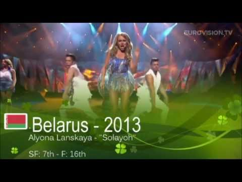 Belarus in Eurovision - All Entries [HD] (2000-2013)