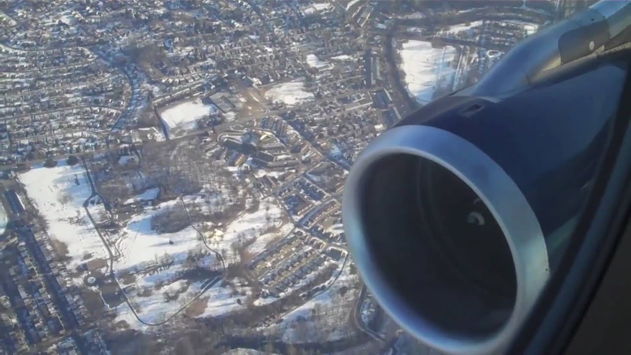 US Airways Airbus A320 Takeoff PHL GREAT ENGINE SOUND YouTube