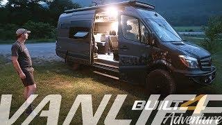 Built 4 Adventure - Walkaround: Outside Van.