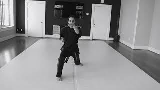 Thomas Clifford's Martial Arts - Chuan Fa 2, Kenpo Kata 2.
