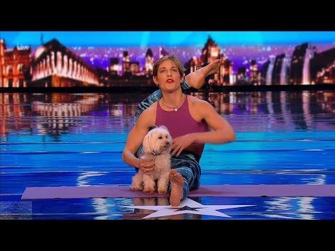 Britain's Got Talent 2017 Mahny Djahanguiri Puppy Pandemonium Full Audition S11E01