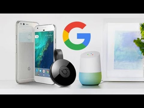 GOOGLE HOME SPEAKER and CHROMECAST setup and connect to TV