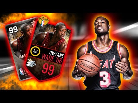 ANOTHER 99 OVERALL NBA FINALS LEGEND!!!, DWYANE WADE REVIEW + FULL GAMEPLAY | NBA LIVE MOBILE