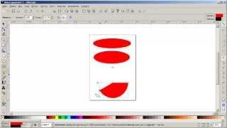 Уроки Inkscape: Как рисовать круги, эллипсы и дуги в Inkscape