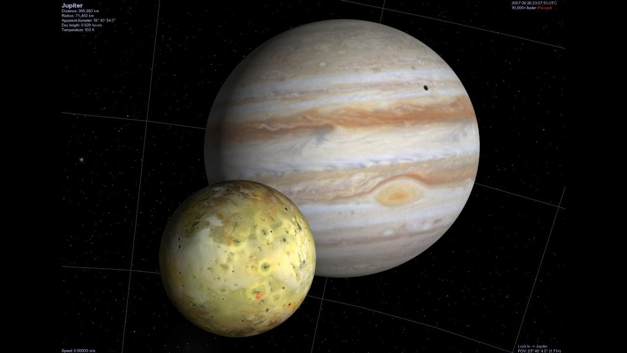 Real Planet Videos Jupiter Rotation Video Largest Planet