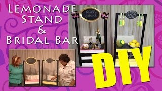 All-Star Designers Summer Series: Lemonade Stand & Bridal Bar