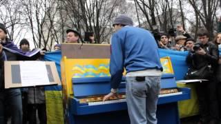 """,,Майже Весна"""".Днепропетровск.Концерт около ОДА.16.02.2014"""