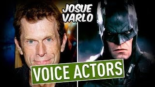 Characters and Voice Actors Batman Arkham Knight 1080p 60fps PC PS4 XBOX ONE