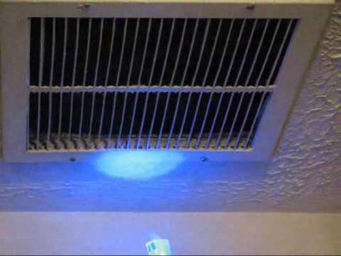 Duct Air Leak Test Youtube