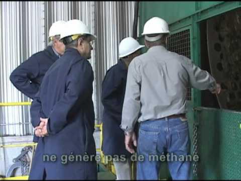 Technologie de compostage d'haute performance tri-mécano biologique Conporec du groupe HERA