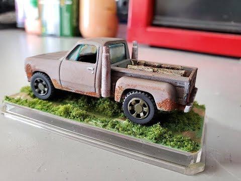 Custom Hot Wheels '78 Dodge Truck